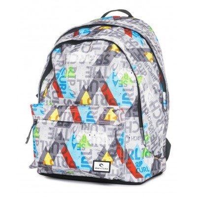 GEO PARTY DOUBLE DOME MOCHILA GRIS