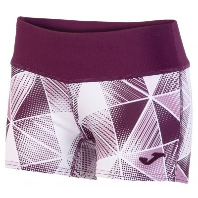 SHORT ESTAMPADO GRAFITY BURDEOS