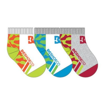 3PPK QUARTERTOP BABY SOCKS CALCETIN