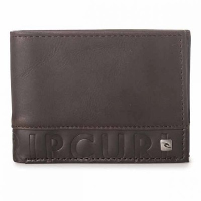 CUT N SEW RFID SLIM CARTERA MARRON