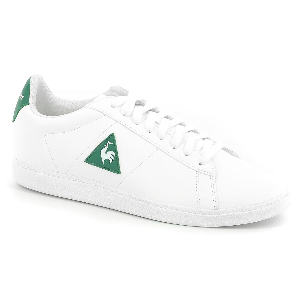 COURTSET S LEA OPCTICAL WHITE/EVERGREEN