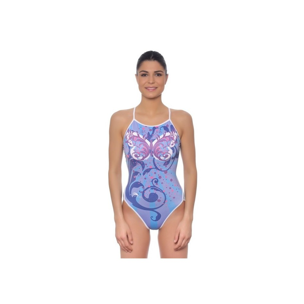 TURBO SWIMSUIT NAT.MUJER. BUTTERFLY STAR