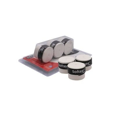 PACK 3 OVERGRIPS SOFTEE PERFORADO