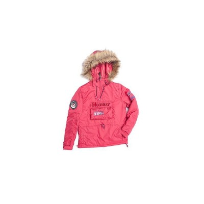 PARKA TANAREG DARK ROSE